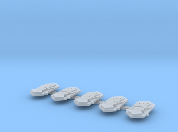 Steel Handed Warriors Drop Pod icons in Smooth Fine Detail Plastic