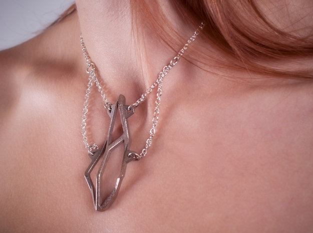 Sacred Necklace in Stainless Steel