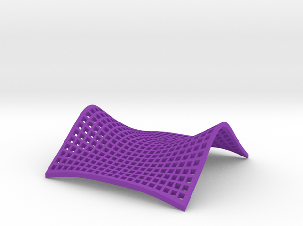 Saddle Point in Purple Strong & Flexible Polished: Small