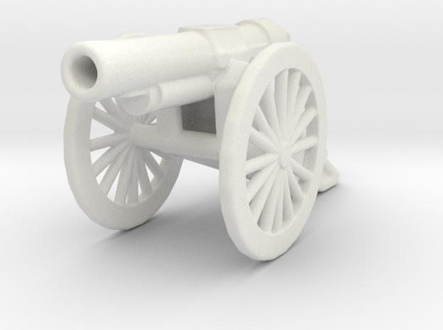 bl 6 inch 30 cwt howitzer 1/100 ww1 artillery  in White Natural Versatile Plastic