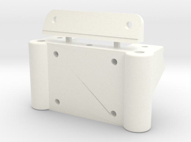 91 STEALTH FRONT BULKHEAD in White Processed Versatile Plastic