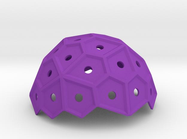 Pentasphere in Purple Processed Versatile Plastic