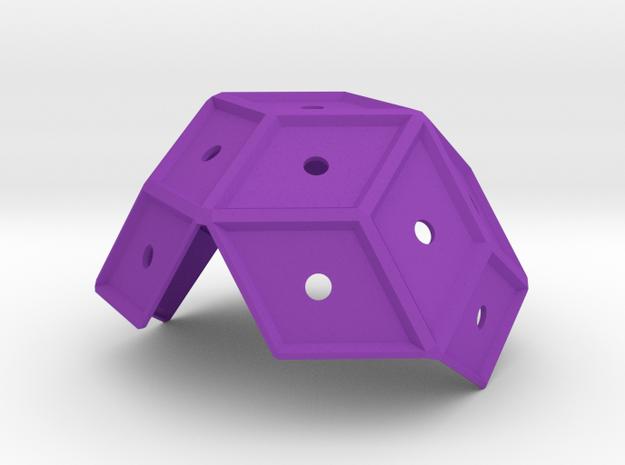 Pentasmaround_2 in Purple Processed Versatile Plastic