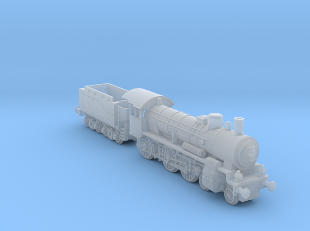 P8_Prussian_Locomotive in Smoothest Fine Detail Plastic