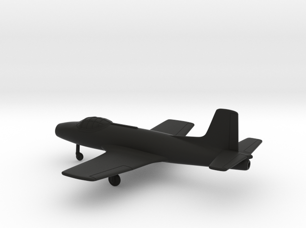 Fokker S.14 Machtrainer in Black Strong & Flexible: 1:200