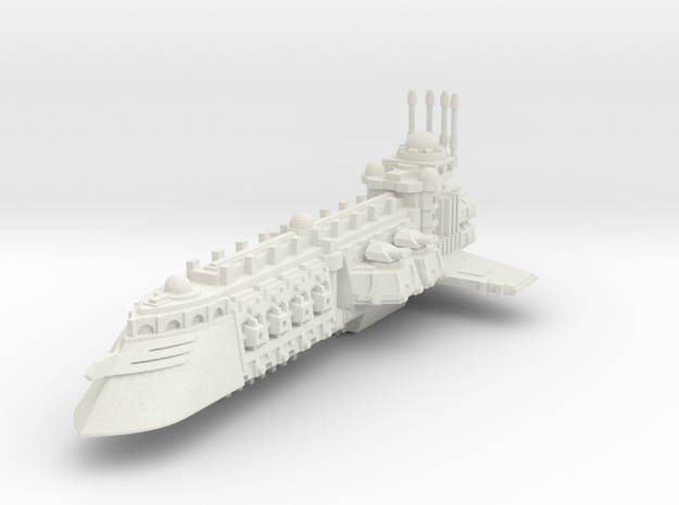 Crucero Comerciante Independiente B in White Natural Versatile Plastic
