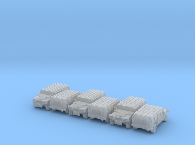 Meng Shi pack 6x in Smooth Fine Detail Plastic: 6mm