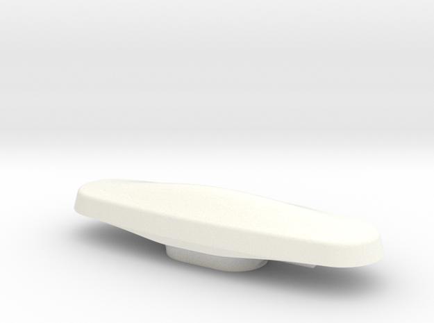 Radar NH1816-oval-scale 1:20 in White Processed Versatile Plastic