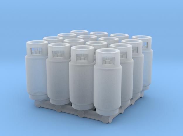 LPG Tank (N - 1:160) 16X  in Smoothest Fine Detail Plastic