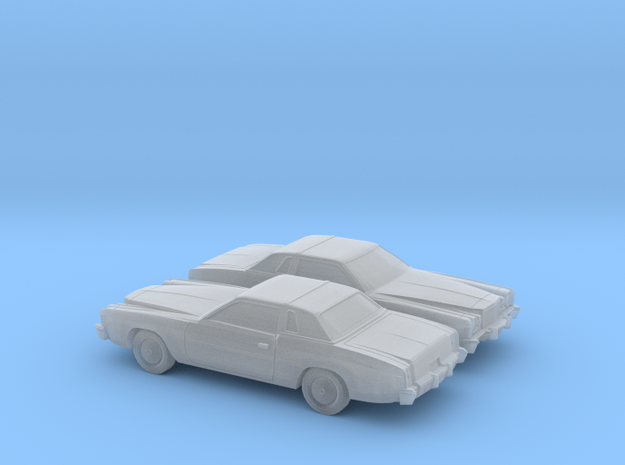 1/160 2X  1975-77 Chrysler Cordoba in Smooth Fine Detail Plastic