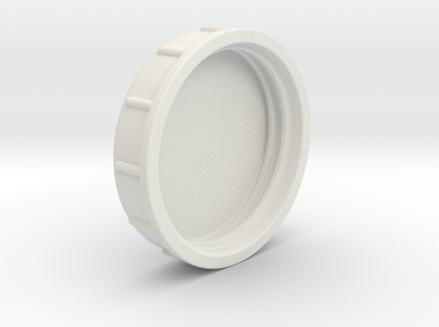 Mason jar lid in White Natural Versatile Plastic