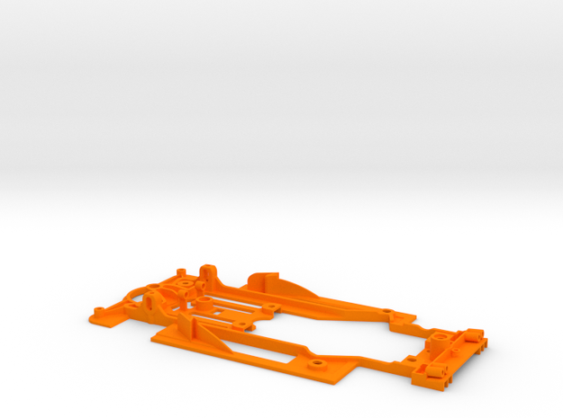 SC-9102i Chasis V12 EVO lightweight std guide RT3  in Orange Strong & Flexible Polished