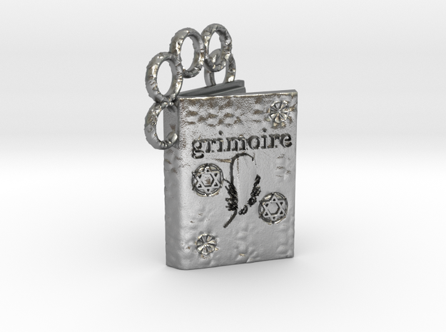Grimoire in Natural Silver