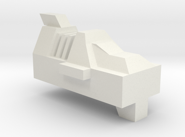 Scourge Gun Filler in White Natural Versatile Plastic