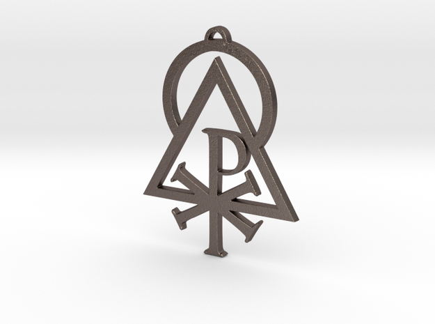 Sigil of the Liberal Catholic Union in Stainless Steel