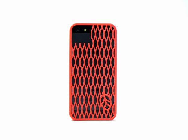 leaf case in Red Strong & Flexible Polished