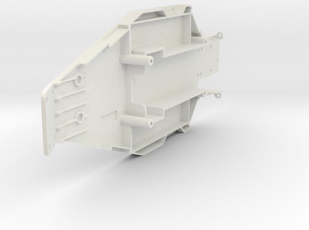 losi junior 2 and junior T chassis  in White Natural Versatile Plastic