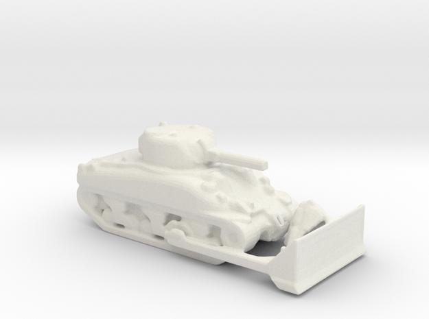 m4  sherman dozer 1/200 in White Natural Versatile Plastic
