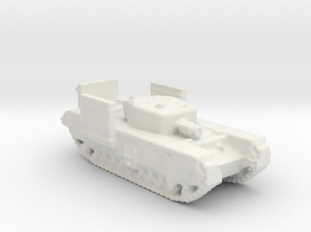 Churchill A.V.R.E 1/200 in White Natural Versatile Plastic