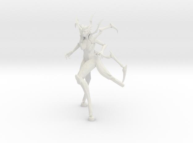 Elise in White Natural Versatile Plastic