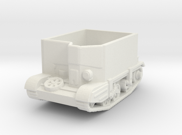 carrier deep wading  1/144 closed  in White Natural Versatile Plastic
