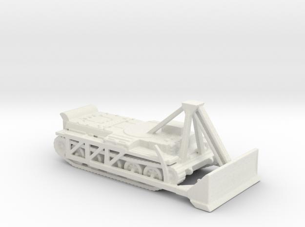 Centaur ARV Dozer 1/144 in White Natural Versatile Plastic