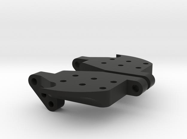 YOKOMO DP REAR BALANCING BRACES in Black Natural Versatile Plastic