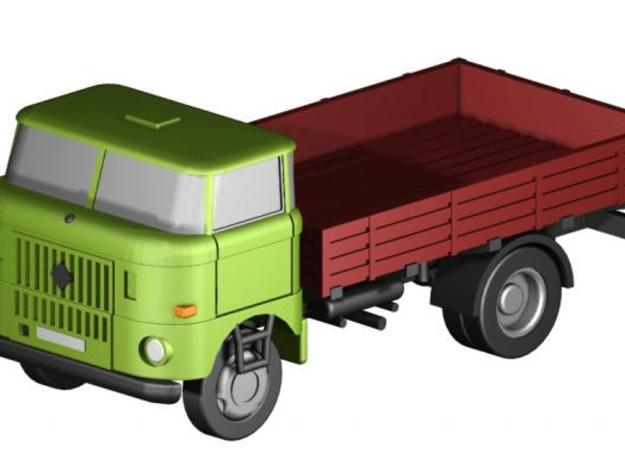 W50 kurz Pritsche / short flatbed (1:220) in Frosted Ultra Detail