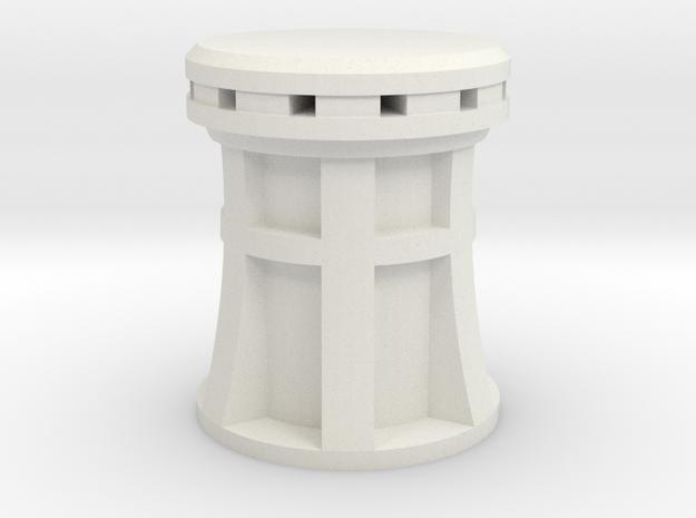 XIX cenury Capstan 1:24 scale in White Natural Versatile Plastic