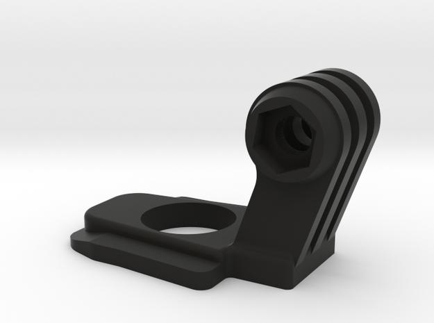 GoPro mount for JOBY GorillaPod Hybrid in Black Natural Versatile Plastic