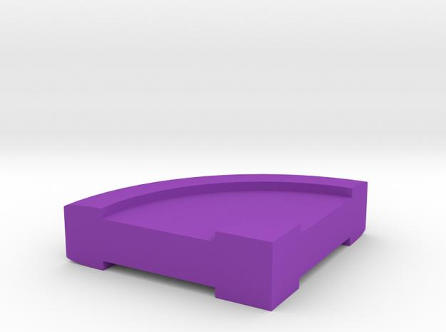 pie charts_90gradi in Purple Processed Versatile Plastic