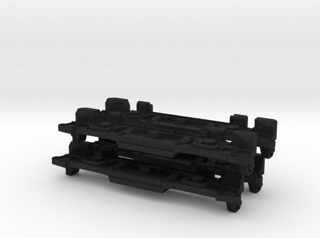 20235 Sideframe for Hornby Dublo E3002 model, set  in Black Acrylic