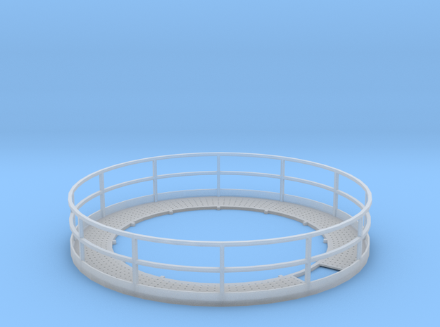 1/64 12' Tower Catwalk Round in Smooth Fine Detail Plastic