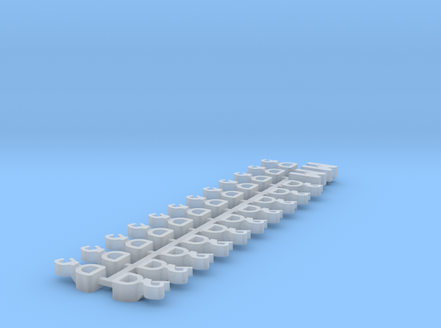 1:220 - Couplers for Marklin Medium  in Smoothest Fine Detail Plastic