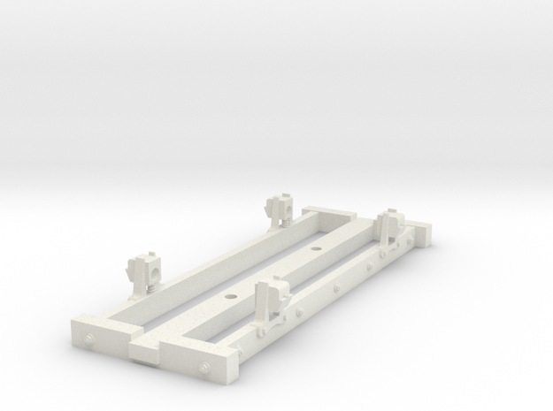 On18/09  10ft 6 4w wooden chassis  in White Strong & Flexible