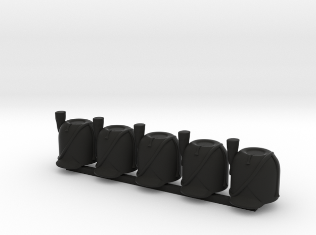 5 x Fench Bearskin V1 wPrim in Black Premium Versatile Plastic