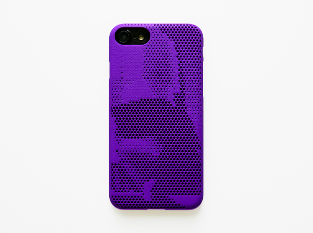 iPhone 7 & 8 case_Darth Vader in Purple Processed Versatile Plastic