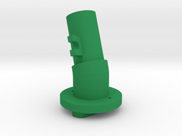 Shaft 15F-20R in Green Processed Versatile Plastic