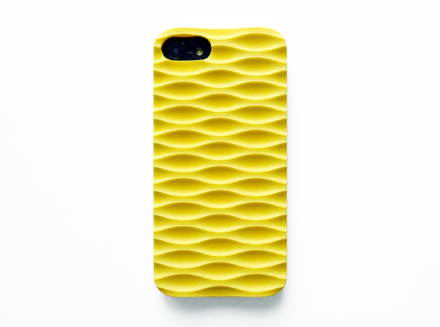 iPhone 7 Case_Seamless in Yellow Strong & Flexible Polished