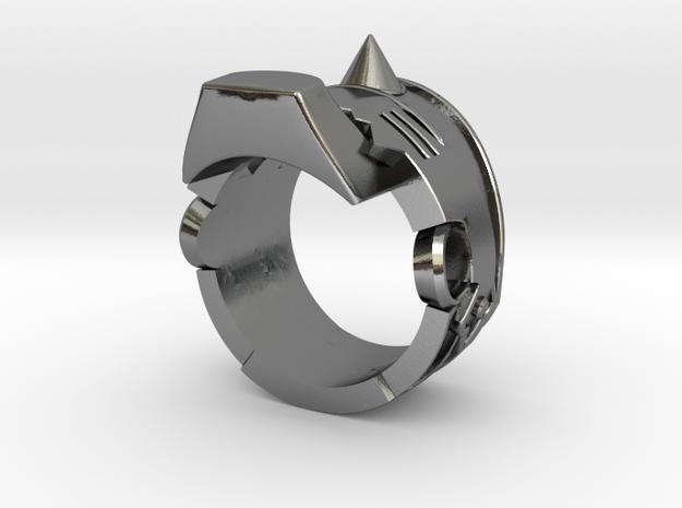 Fullmetal Alchemist: Alphonse Ring in Polished Silver: 8 / 56.75