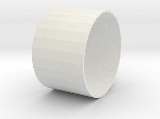 losi jrxt monster wheel ring in White Natural Versatile Plastic