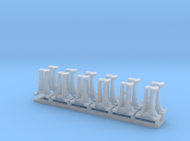 N Scale CPR switchstand set  in Smoothest Fine Detail Plastic
