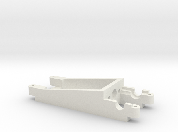 Motor Mount Inliner Sideways Cars in White Natural Versatile Plastic