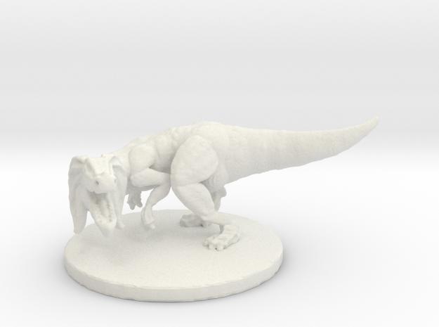 Jaggia (#2) (Medium Beast) in White Natural Versatile Plastic