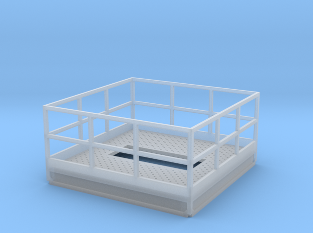 1/64 10' Tower intermediate platform single 5000 in Smooth Fine Detail Plastic