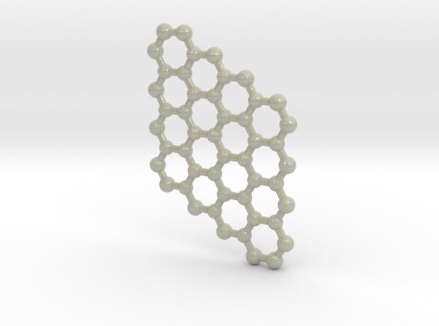 Graphene 4x4 (Large) in Glossy Full Color Sandstone