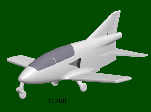 Bede BD-5J Micro JET, scale 1/200 in Smoothest Fine Detail Plastic