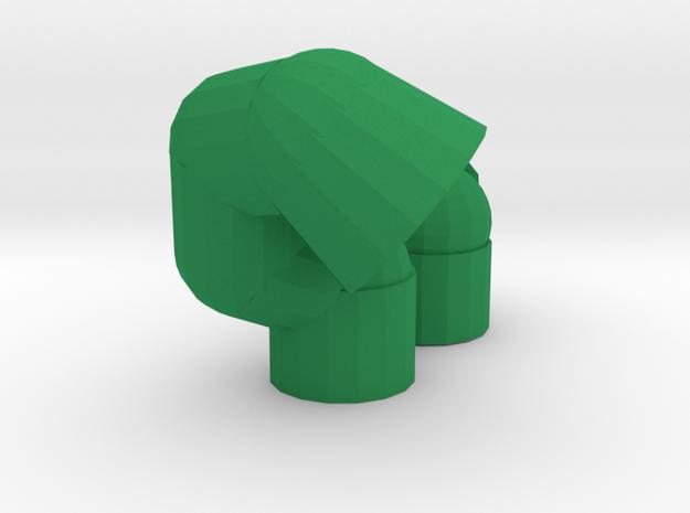 Leucine and Serine caps for lambda repressor in Green Processed Versatile Plastic