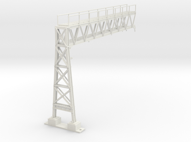 HILL WEST SIGNAL in White Natural Versatile Plastic
