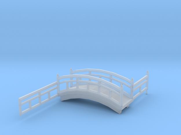 Onsen diorama bridge in Smoothest Fine Detail Plastic